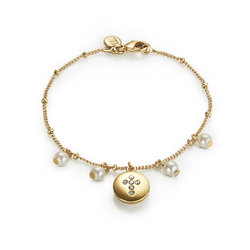Pulsera Mini Cristal Cross