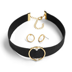 Estuche black & pearl x2