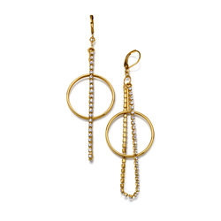 Pendientes Circle Strass
