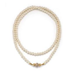 Collar Largo Pearl Art